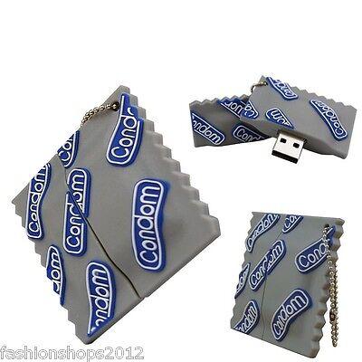 Funny Condoms model USB 2.0 Memory Stick Flash pen Drive 4GB 8GB 16GB 32GB DQ70