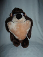 "1993 Looney Tunes Taz Devil Tasmanian 13"" Sound Plush Soft Toy Stuffed Animal"