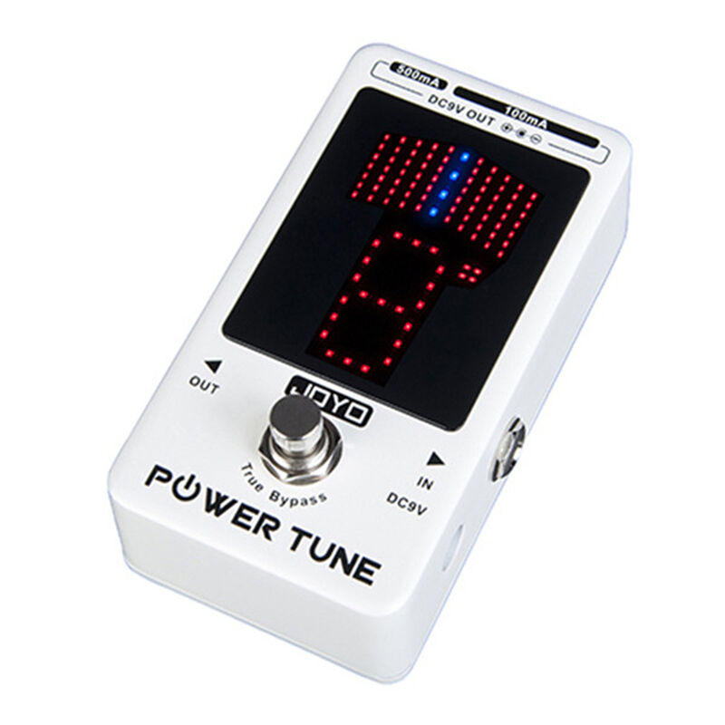 JOYO JF-18R Power Tune Guitar Chromatic Tuner FX Power Supply In one   8 Output