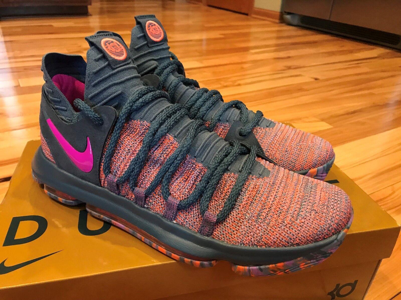 Men's Nike Zoom KD10 LMTD LMTD LMTD AS All-Star Ocean Fog Fuchsia 897817-400 Size 11.5 d5a64b