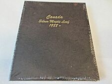 New DANSCO 7215 COIN ALBUM FOR Canada Silver Maple Leaf 1988-present Coins