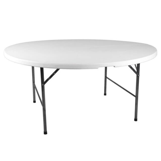 Klapptisch Rund 160 Cm Campingtisch Tisch Partytisch Klappbar