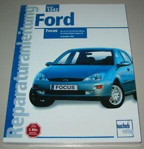 Reparaturanleitung-Ford-Focus-I-1-4-1-6-1-8-2-0-Diesel-Benzin-ab-1998-Buch-NEU