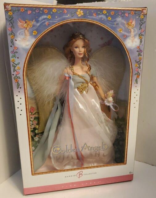Golden Angel 2006 Barbie Collector Doll. Pink label