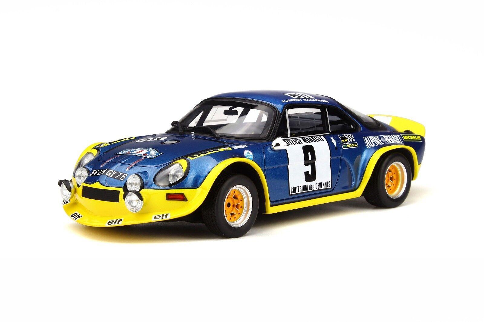 Disfruta de un 50% de descuento. Alpine a110 a110 a110 turbo Rally  nuevo  Otto ot249  1 18  excelentes precios