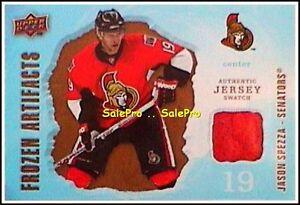 UD-ARTIFACTS-2008-JASON-SPEZZA-NHL-OTTAWA-SENATORS-RARE-FROZEN-GAME-JERSEY-FAJS