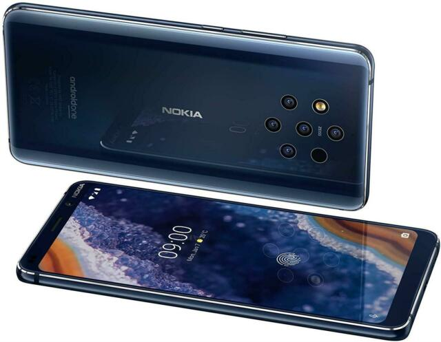 NOKIA 9 PURE VIEW NEW CONDITION - 128GB - 6G RAM - BLUE - UNLOCKED