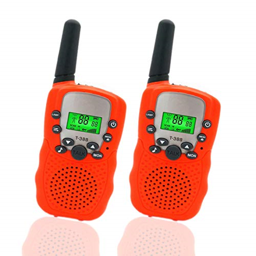 Walkie Talkies for Kids 1 Pair, Blue Teen Gifts Birthday Selieve Toys for 3-12 Year Old Boys and Girls