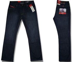 Hero-BOSTON-Herren-Jeans-Hose-STRAIGHT-FIT-Dark-Blue-Denim