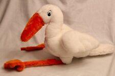 """Haan Crafts 20"""" White Bird Plush Toy Doll"""