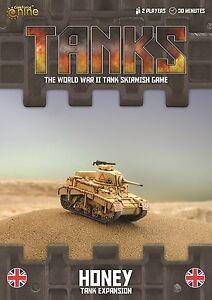 Gale Force Nine BNIB TANKS British Honey Tank Expansion GFNTANKS40 9420020235687