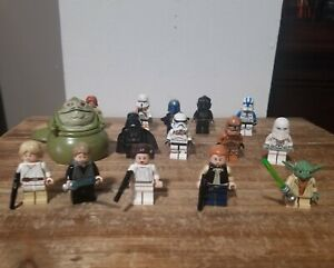 Lego-Star-Wars-Assorted-Characters-Luke-Leia-Jango-Fett-Han-Troopers