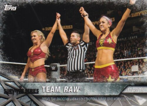 momments # wwe-13 Team RAW 2017 Topps WWE Women/'s Division Walker