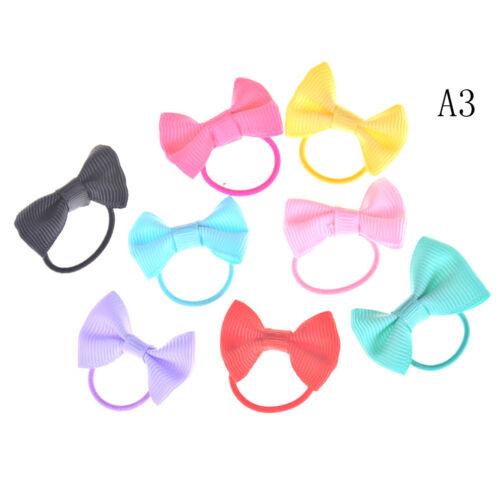 1000pcs//Bag Small Elastic Hair Bands Braids Poly Rubber Plaits Braiding Mini J/&C