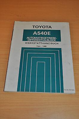 Gastfreundlich Werkstatthandbuch Toyota A540e A 540 E Automatik Getriebe Differentialblock 88