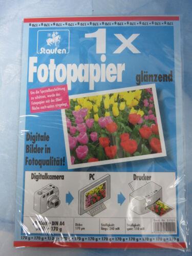 4006050511011 Fotopapier glänzend 170 g Staufen