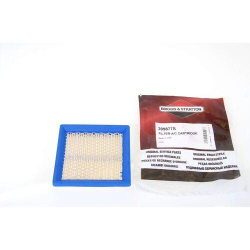 Air Filter Airfilter Luftfilter  BRIGGS /& STRATTON 399877S 399877 #44-19-061