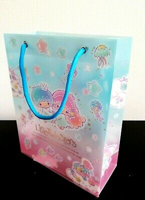 New SANRIO Little Twin Stars Cute clear bag prism gift present packet