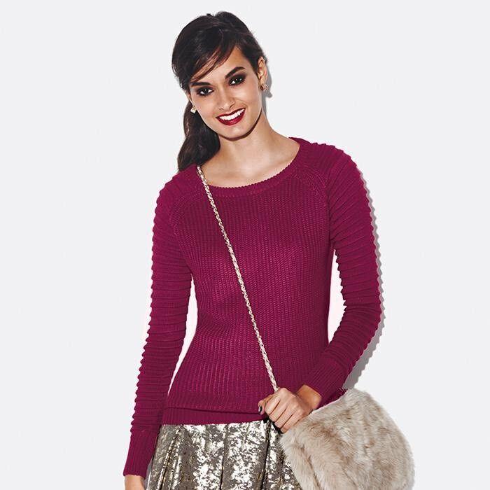 Mark by Avon Favorite Wine Women s Sweater Sweatshirt Red Burgundy ... 087cae834