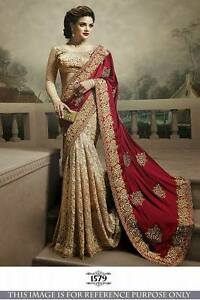 Saree Party Designer Ethnic Indian Women Wedding Traditional Wear 29EDIWH