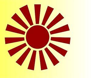 Adhesivo-Coche-Sun-Sol-Motocicleta-Laminas-Pegatina-Tuning-S1