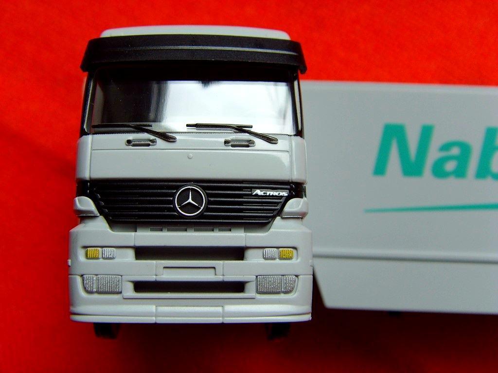 Wiking Mercedes Benz Actros Mb Camion nabaltec pubblicitari modello/ordine modello