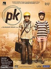 PK - OFFICIAL BOLLYWOOD 2 DISC DVD [AAMIR KHAN][P.K]