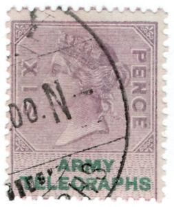 I-B-QV-Telegraphs-Army-Telegraphs-6d-Standerton-Boer-War