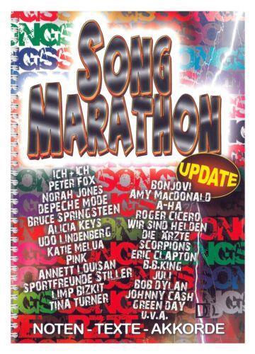 Song Marathon Update Noten Texte Akkorde 102 Hits Gesang Gitarre Keyboard