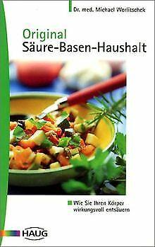 Original Säure-Basen-Haushalt von Worlitschek, Michael   Buch   Zustand sehr gut