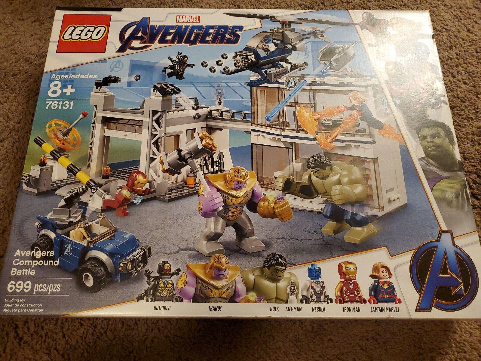 Lego 76131 Marvel Avengers Endgame Avengers Compound Battle brand new sealed