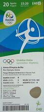TICKET 20.8.2016 Olympia Rio Rhytmische Sportgymnastik # E40