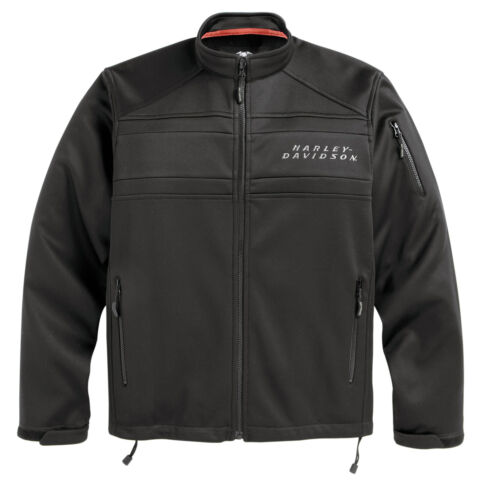 Harley-Davidson Men/'s Precision Soft Shell Jacket Black 98514-12VM