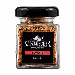 ( 14,14€/ 100g) 35g Fleur De Sel Salzmischung Tomatensalz Fingersalz Épice Sel Vente D'éTé SpéCiale