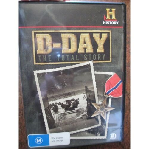 1 of 1 - D Day The Total Story DVD - History Channel WW2 Invasion France