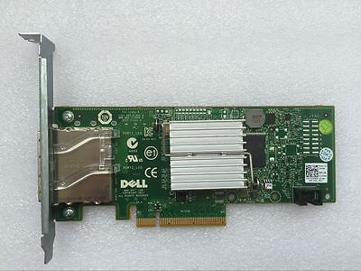 LOW BRACKET FACE PLATE for DELL HBA 6GB SAS SFF-8088