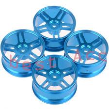 4xWheel Rim 106 BLUE Aluminum 5 Star RC 1/10 On-Road Drift Sakura HSP Tamiya