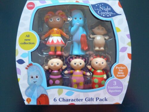 NEW IN BOX** 18 Months *In The Night Garden 6 Figure Character Gift Play Pack