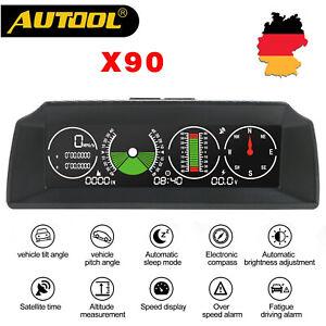 Autool-X90-Multi-functional-Horizontal-Speedometer-Smart-GPS-Vehicle-Slope-Meter