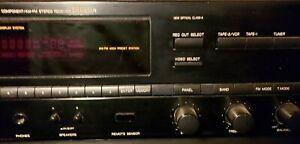 Denon DRA-335R Home Audio 80W Precision Audio Component AM-FM Stereo Receiver