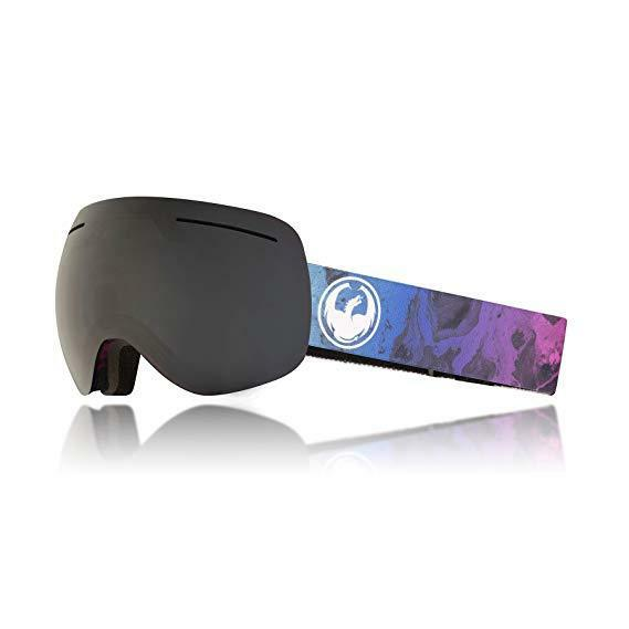 BRAND NEW Dragon  X1  SN-17061 Ink -Dark Smoke +1 L Flash bluee Snow Goggles