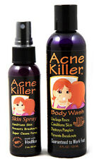 Acne Killer Brand Face and Body Breakout Control Toner & Cleanser Kit