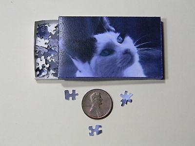 "Mini Jigsaw Puzzle 100 piece 1:12 /""Cute Cat/"""