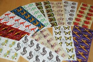 Russia-Stamps-Collection-Blocks-of-12-DEALER-LOT-q60