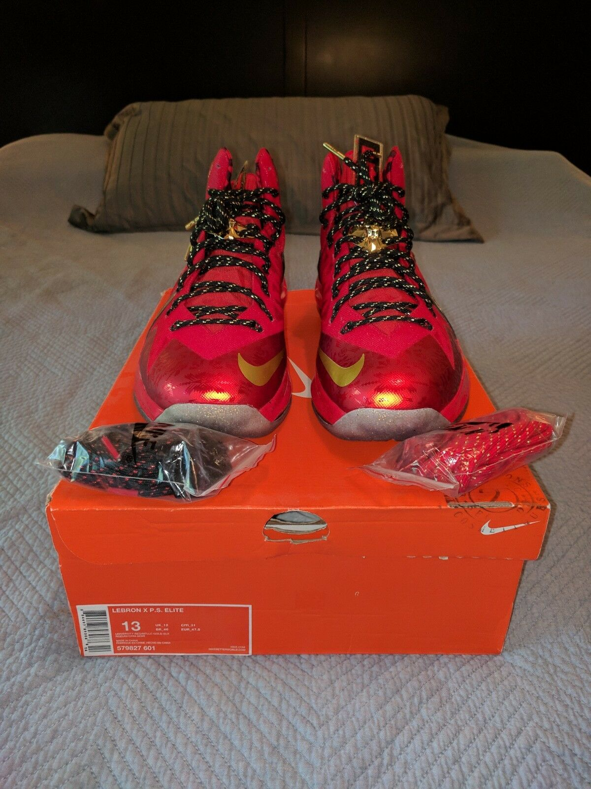 Nike LeBron James 10's(X) Championship Pack (ONLY HIGHS)
