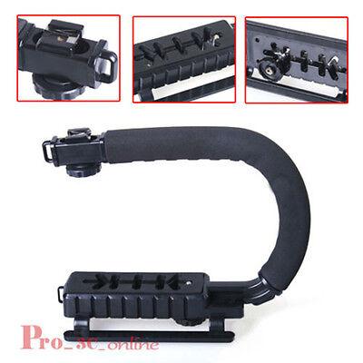 Video Grip Handle Action Stabiliser Stabilizer Handle for DSLR Camera Camcorder
