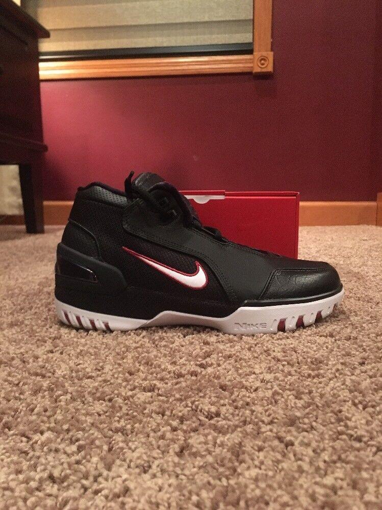 "Nike Air Zoom Generation QS ""King's Rook"" Size 9 AJ4204 001 Black White"