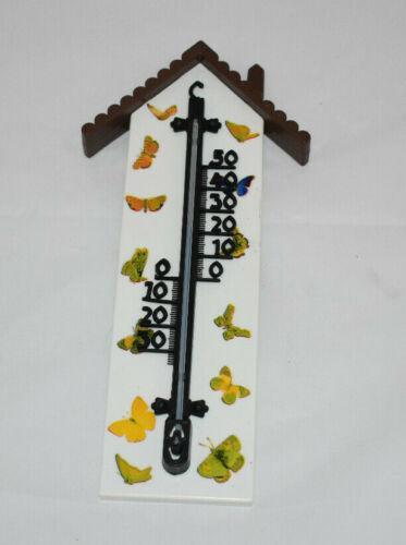 Thermomether Schmetterlinghaus Innen und Außenthermomether Gartenthermomether