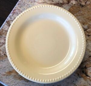 Pottery-Barn-Emma-Yellow-Dinner-Plate-Plates-Lot-of-5