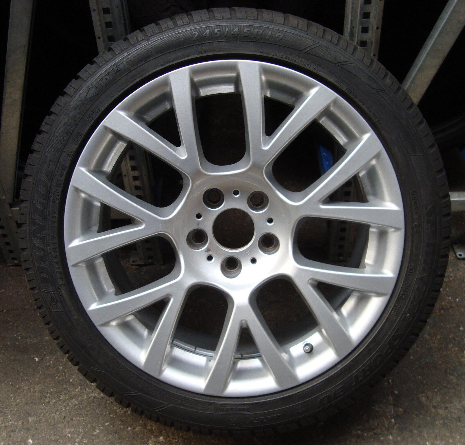4 bmw winter wheels styling 238 245 45 r19 102v m s 5er gt. Black Bedroom Furniture Sets. Home Design Ideas
